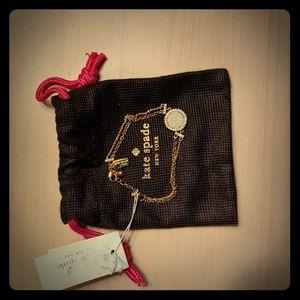 Kate Spade Sparkle Gold-Tone Bracelet